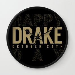 Drake Day Wall Clock