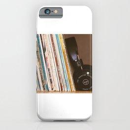 Vinyl and Headphones iPhone Case