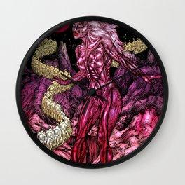 Andromeda Minx Wall Clock