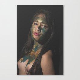 Colors of Women, D.F. Canvas Print