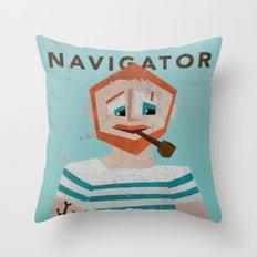 Navigator Throw Pillow