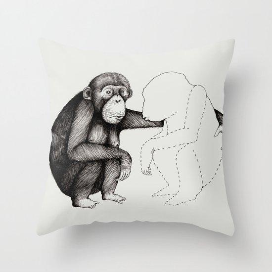 'Gone' Throw Pillow