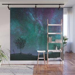 Under The Sky Full Of Stars, I'd Still Stare At You Wall Mural