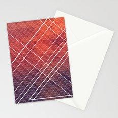 Geometric Volcano Stationery Cards