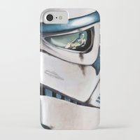 stormtrooper iPhone & iPod Cases featuring Stormtrooper by Mel Hampson