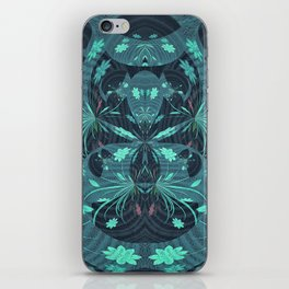 Fireworks on Venus Floral Mandala iPhone Skin