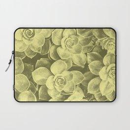 Pastel yellow aloes Laptop Sleeve
