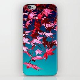 red tree II iPhone Skin