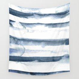 indigo streak Wall Tapestry
