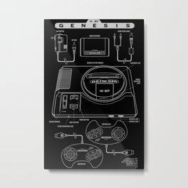 Mega Drive Metal Print