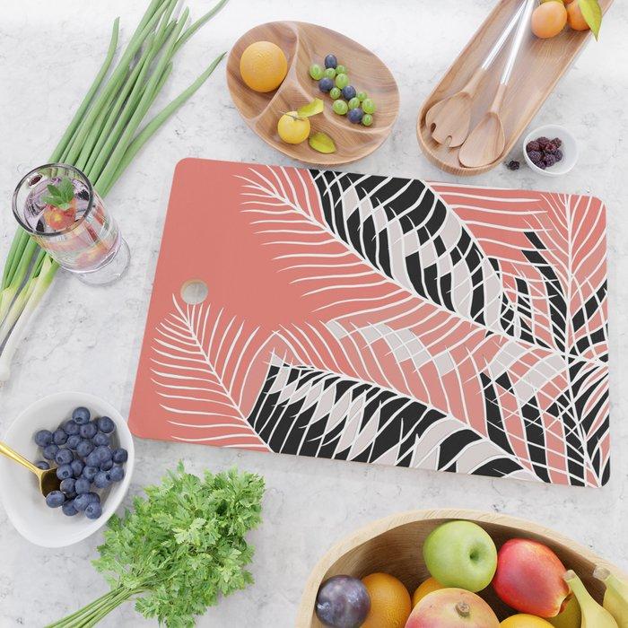 Twister Palm Riddle Cutting Board