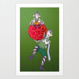 Christmas Nisse Art Print
