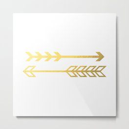 Arrows Metal Print