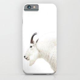 NORDIC MOUNTAIN GOAT iPhone Case