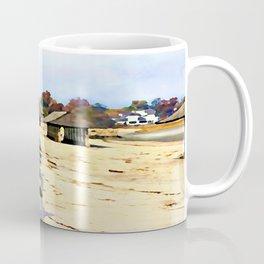 A Stroll Along The Beach Coffee Mug