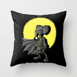 """Cuervito Fumanchu - """"Batkumin"""" Throw Pillow"""