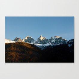 Chamonix Canvas Print