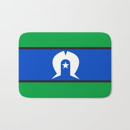 Torres Strait Islander people ethnic flag Bath Mat