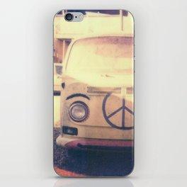 Happy VW Van Polaroid iPhone Skin