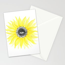 The Sunflower Eye Stationery Cards