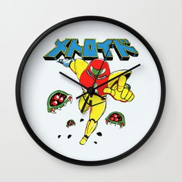Metroid Japanese Promo Wall Clock