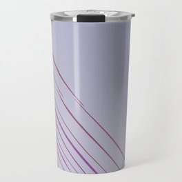 Design lines, exotic pink Travel Mug
