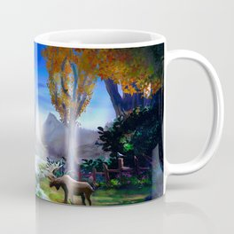 Light from the Mountains Coffee Mug
