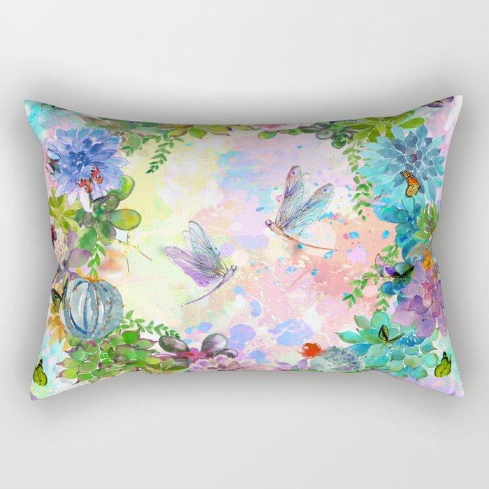 s for spring Rectangular Pillow