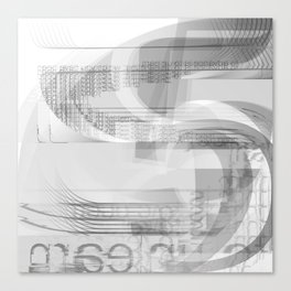 unlearn Canvas Print