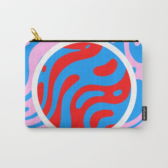Marbling Carry-All Pouch