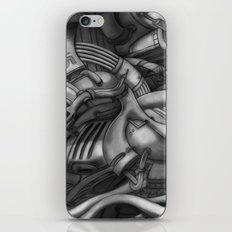 abstract techXpressionism No. 2 iPhone & iPod Skin
