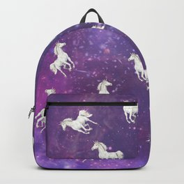 Unicorn in a starry sky Backpack