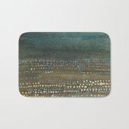 Landscape Dots - Night Bath Mat
