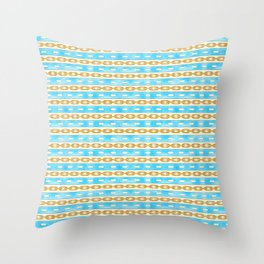 Glam Chains Throw Pillow