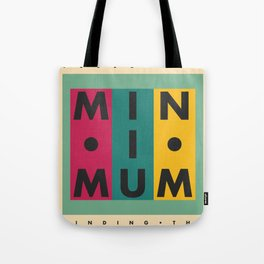 Vintage California // Minimum Tote Bag