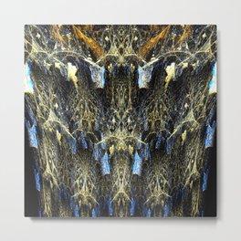 Fractal Dream Forest Metal Print