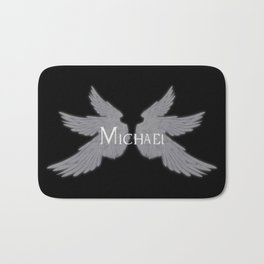 Archangel Michael with Wings Bath Mat