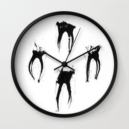 Teeth Diaphonized I Wall Clock