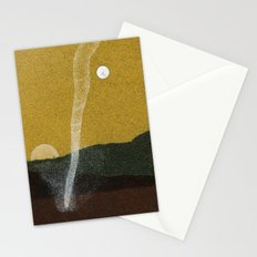 dust devil of Mars Stationery Cards