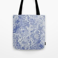 Crow Pattern Tote Bag