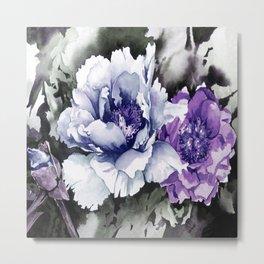 FLOWER PAINTING1 Metal Print