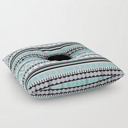 Monogram Tribal Pattern *B* Floor Pillow