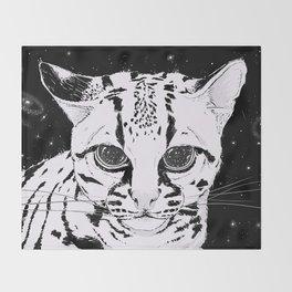 Leopardus Pardalis Throw Blanket