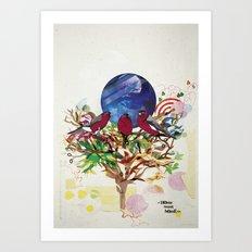 Home Sweet Home. Art Print