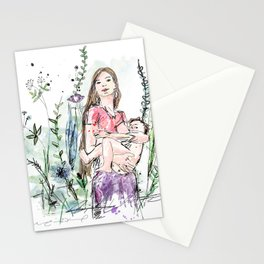 Natural Breastfeeding Stationery Cards