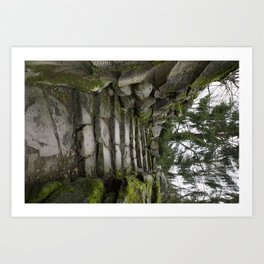 Germany Castle Steps Art Print