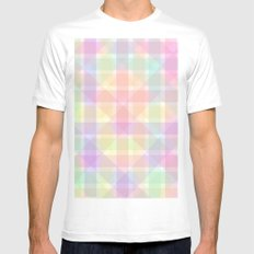 Colors Mens Fitted Tee MEDIUM White