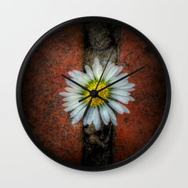 Nature Wins ( No Text ) Wall Clock
