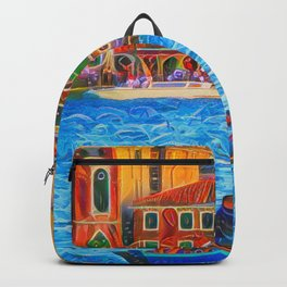 Venice by Boat Backpack