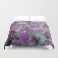 breaking Duvet Covers featuring Breaking Dawn by Jennifer Warmuth Art And Design